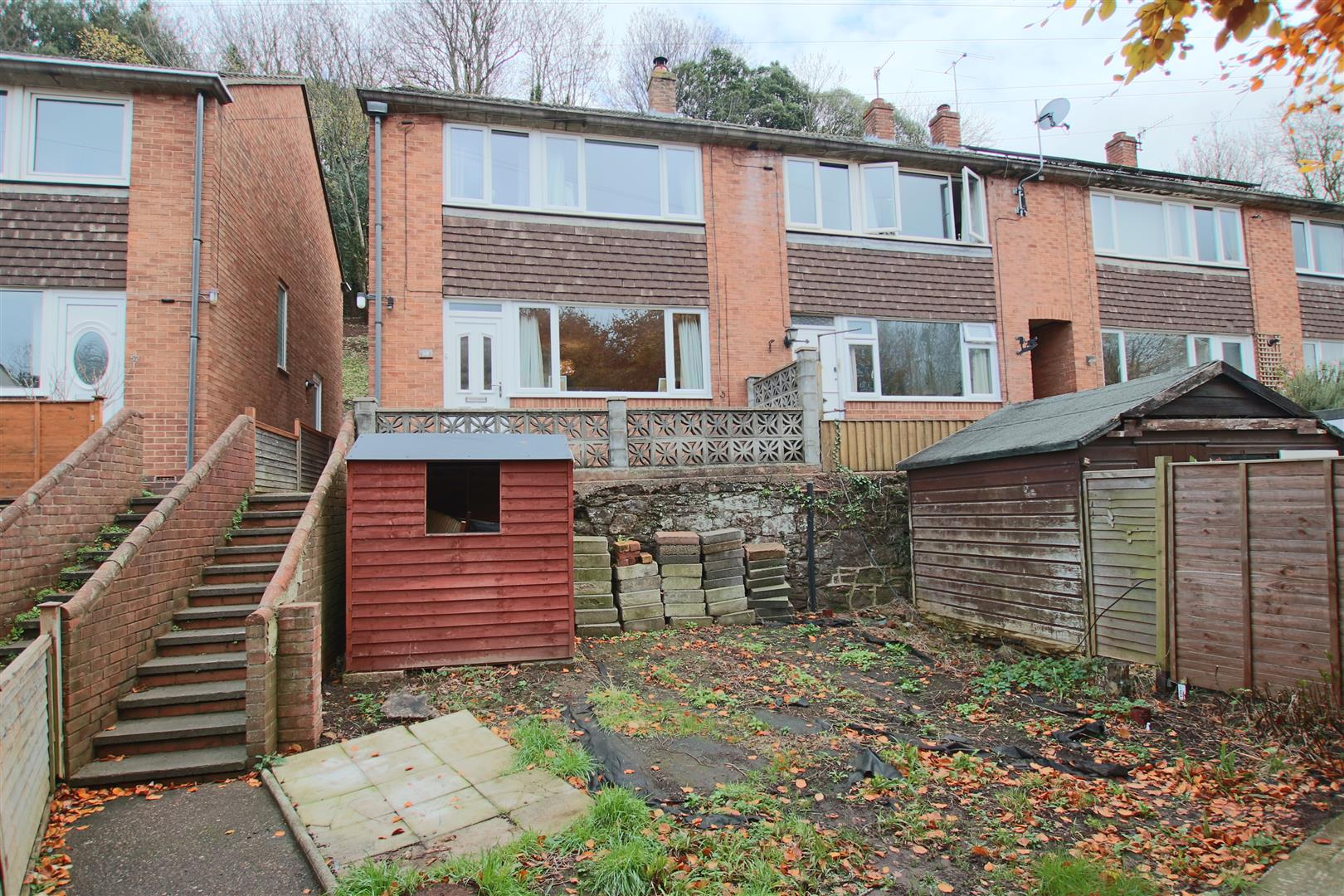 3 Bedrooms End Of Terrace House for sale in Bonhay Road, St Davids, Exeter